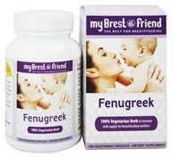 My Brest Friend - Fenugreek - 100 Vegetarian Capsules (705873300829)
