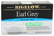 Image of Bigelow Tea - Black Tea Earl Grey Decaffeinated - 20 Tea Bags