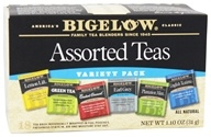 Bigelow Tea - Six Assorted Teas Variety Pack - 18 Tea Bags (072310001923)