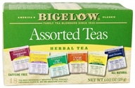 Bigelow Tea - Six Variety Pack Assorted Herb Teas Caffeine Free - 18 Tea Bags by Bigelow Tea