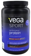 Vega Sport - Natural Plant Based Performance Protein Chocolate - 28.9 oz. - $51.99