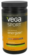 Vega Sport - Natural Plant Based Pre-Workout Energizer Lemon Lime - 19 oz. - $42.49