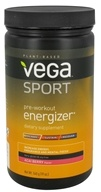 Vega Sport - Natural Plant Based Pre-Workout Energizer Acai Berry - 19 oz., from category: Sports Nutrition