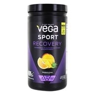 Vega Sport - Natural Plant Based Recovery Accelerator Tropical - 19 oz.