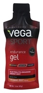 Vega Sport - Natural Plant Based Endurance Gel Orange Zest - 1.6 oz.