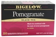 Bigelow Tea - Black Tea Pomegranate - 20 Tea Bags, from category: Teas