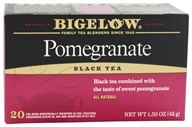 Bigelow Tea - Black Tea Pomegranate - 20 Tea Bags (072310001138)