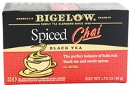 Image of Bigelow Tea - Chai Tea Spiced - 20 Tea Bags