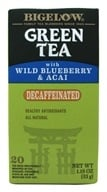 Bigelow Tea - Green Tea Decaffeinated with Blueberry & Acai - 20 Tea Bags