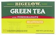 Bigelow Tea - Green Tea Decaffeinated with Pomegranate - 20 Tea Bags by Bigelow Tea
