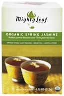 Mighty Leaf - Green Tea Organic Spring Jasmine - 15 Tea Bags, from category: Teas