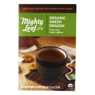 Mighty Leaf - Green Tea Organic Green Dragon - 15 Tea Bags, from category: Teas