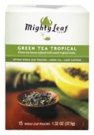 Mighty Leaf - Green Tea Tropical - 15 Tea Bags, from category: Teas