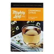 Mighty Leaf - Herbal Infusion Chamomile Citrus - 15 Tea Bags - $6.99