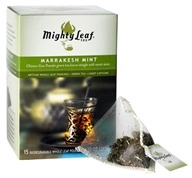 Mighty Leaf - Green Tea Marrakesh Mint - 15 Tea Bags (656252300124)