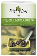 Mighty Leaf - Green Tea Organic Hojicha - 15 Tea Bags by Mighty Leaf
