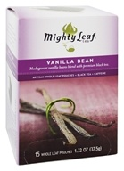 Image of Mighty Leaf - Black Tea Vanilla Bean - 15 Tea Bags