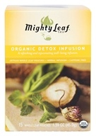 Mighty Leaf - Herbal Infusion Organic Detox Infusion - 15 Tea Bags (656252300216)