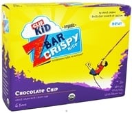 Clif Bar - Kid Z-Bar Organic Crispy Rice Chocolate Chip - 6 Bars (722252751034)
