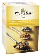 Mighty Leaf - Herbal Infusion Variety - 15 Tea Bags, from category: Teas