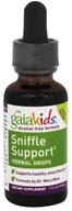 Gaia Herbs - GaiaKids Sniffle Support Herbal Drops - 1 oz.