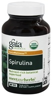Gaia Herbs - Organic Spirulina - 180 Tablets, from category: Nutritional Supplements