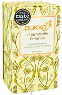 Pukka Herbs - Organic Herbal Tea Golden Chamomile - 20 Tea Bags