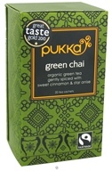 Pukka Herbs - Organic Green Tea Chai - 20 Tea Bags, from category: Teas