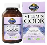 Garden of Life - Vitamin Code Raw Prenatal - 180 Vegetarian Capsules by Garden of Life