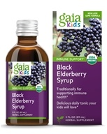 Image of Gaia Herbs - GaiaKids Black Elderberry Syrup - 3 oz.