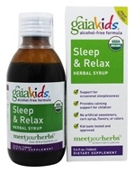 Image of Gaia Herbs - GaiaKids Sleep & Relax Herbal Syrup - 5.4 oz.
