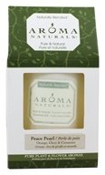 Aroma Naturals - Peace Pearl Naturally Blended Pillar Eco-Candle 3