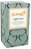 Pukka Herbs - Organic Oat Flower, Lavender & Limeflower Tea Night Time - 20 Tea Bags, from category: Teas