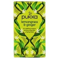 Pukka Herbs - Organic Herbal Tea Lemongrass & Ginger - 20 Tea Bags by Pukka Herbs