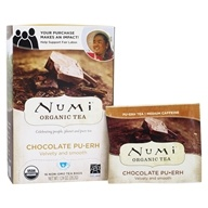 Image of Numi Organic - Pu-erh Tea Chocolate - 16 Tea Bags