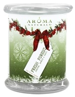 Aroma Naturals - Fresh Forest Soy Glass Candle VegePure Pillar 3