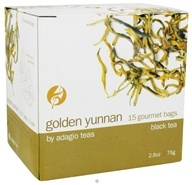 Adagio - Black Tea Golden Yunnan - 15 Tea Pyramid(s) CLEARANCE PRICED - $4.27