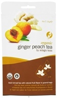 Image of Adagio - Black Tea Full Leaf Organic Ginger Peach - 10 Tea Pyramid(s) CLEARANCE PRICED