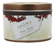 Aroma Naturals - Wish Holiday Soy VegePure Small Travel Tin Eco-Candle Peppermint & Vanilla