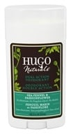 Hugo Naturals - Dual Action Deodorant Safe For Sensitive Skin Sea Fennel & Passionflower - 1.5 oz.
