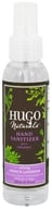 Hugo Naturals - Hand Sanitizer 95% Organic Calming French Lavender - 4 oz. by Hugo Naturals