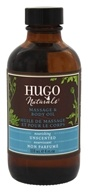 Hugo Naturals - Massage & Body Oil Nourishing Unscented - 4 oz.