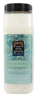 One With Nature - Dead Sea Mineral Bath Salts Eucalyptus - 32 oz.