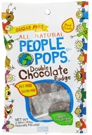 Image of People Pops - All Natural People Pops Double Chocolate Fudge - 2.96 oz.