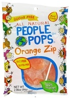 Image of People Pops - All Natural People Pops Orange Zip - 2.96 oz. CLEARANCE PRICED