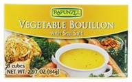 Rapunzel - Vegetable Bouillon Vegan with Sea Salt - 8 cubes (735037071005)