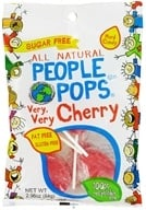 Image of People Pops - All Natural People Pops Very, Very Cherry - 2.96 oz. CLEARANCE PRICED