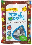 Image of People Pops - All Natural People Drops Double Chocolate Fudge - 3 oz.