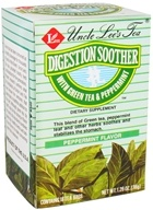Image of Uncle Lee's Tea - Digestion Soother Green Tea Peppermint - 18 Tea Bags