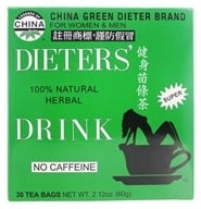 Uncle Lee's Tea - Dieter's Drink Herbal Tea 100% Natural No Caffeine - 30 Tea Bags